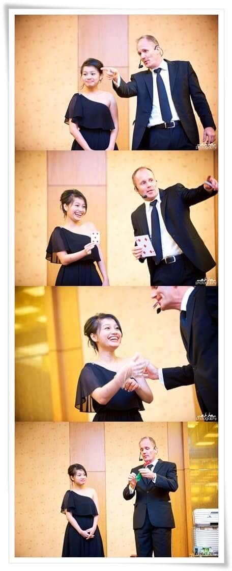 Singapore entertainers magicians